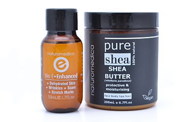 Vitamin E Oil and Shea Butter Range